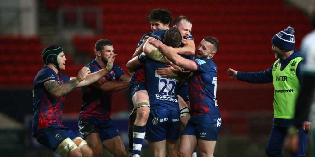 Bristol Bears claim victory over Northampton Saints thanks to Sam Bedlow