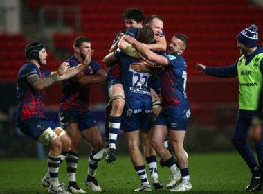 Bristol Bears claim victory over Northampton Saints thanks to Sam Bedlow