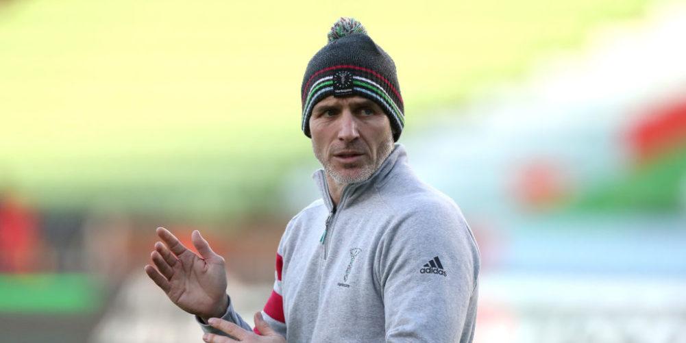 Harlequins head of rugby Paul Gustard