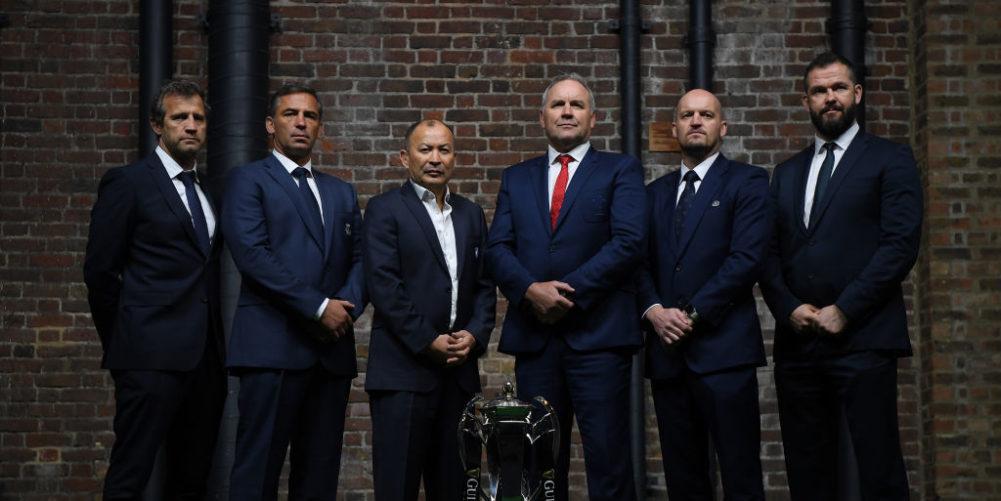 Six Nations coaches