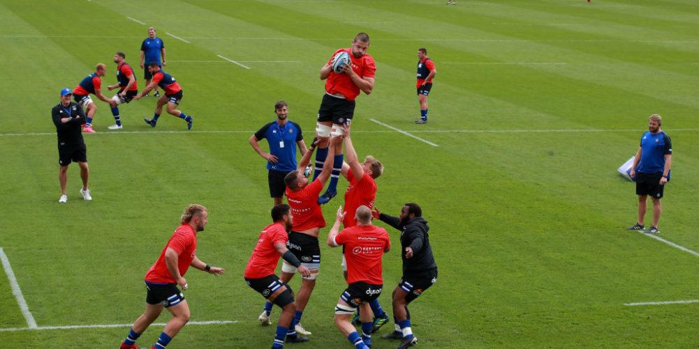 Bath at their Farleigh House training ground