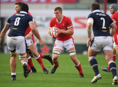 Wales flanker Shane Lewis Hughes
