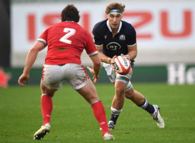 Edinburgh and Scotland back row Jamie Ritchie