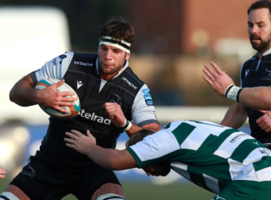Newcastle Falcons flanker Marco Fuser