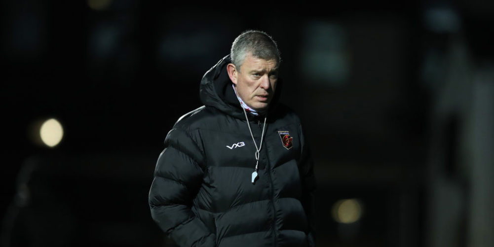 Dean Ryan is wanted by Harlequins