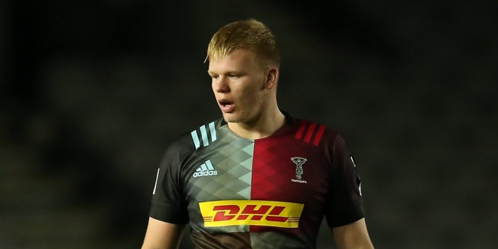 Harlequins lock Hugh Tizard