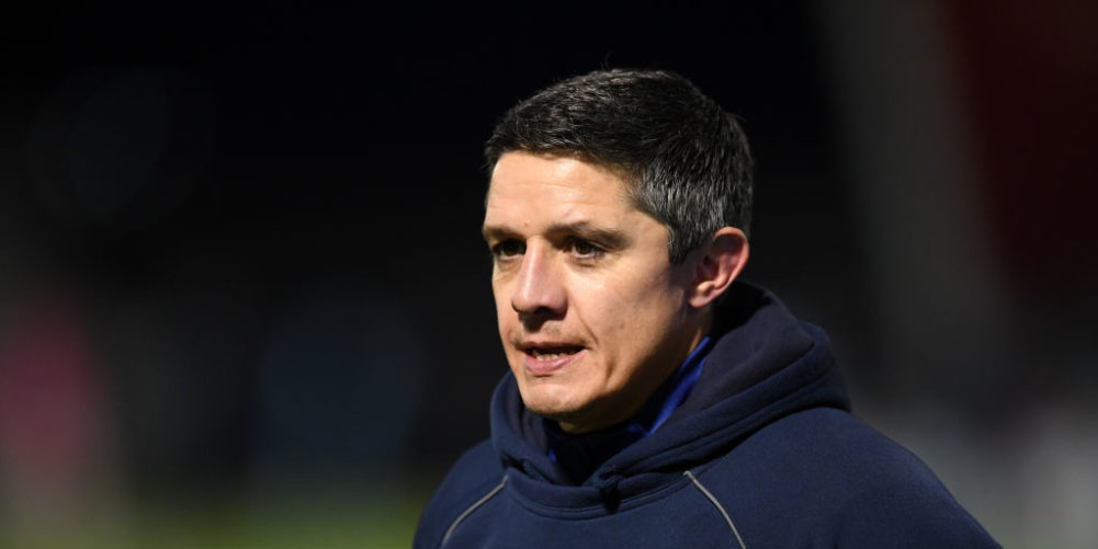 Sale Sharks interim head coach Paul Deacon