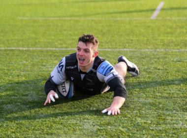 Newcastle Falcons wing Adam Radwan