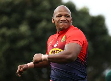 South Africa and Stormers Bongi Mbonambi