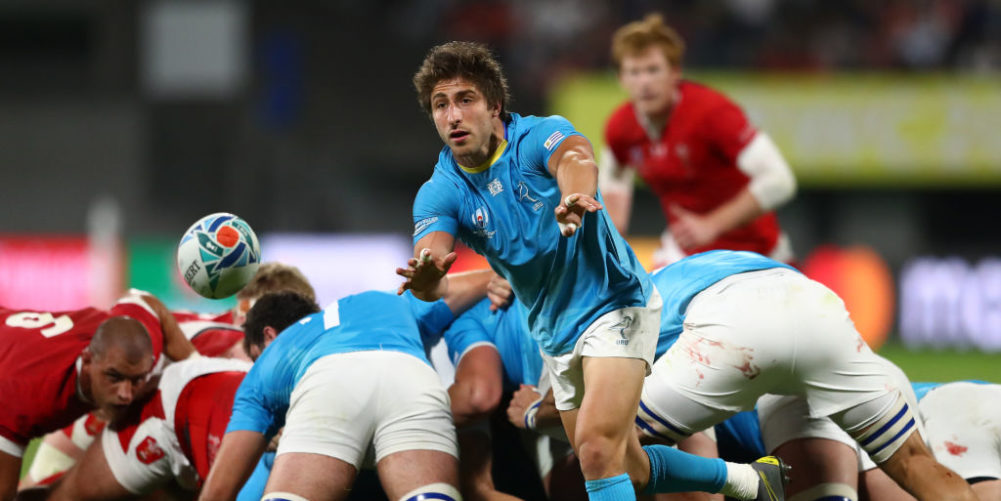 Santiago Arata at the 2019 Rugby World Cup