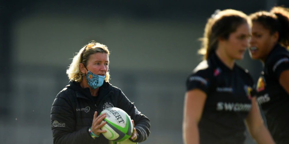 Exeter Chiefs head coach Susie Appleby