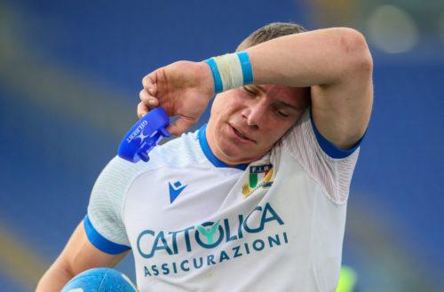 Italy head coach Nick Mallett
