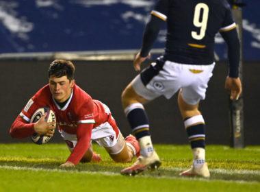Wales wing Louis Rees-Zammit