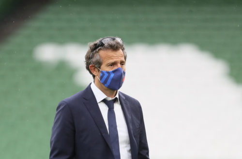 France head coach Fabien Galthie tested positive for Covid-19 last week