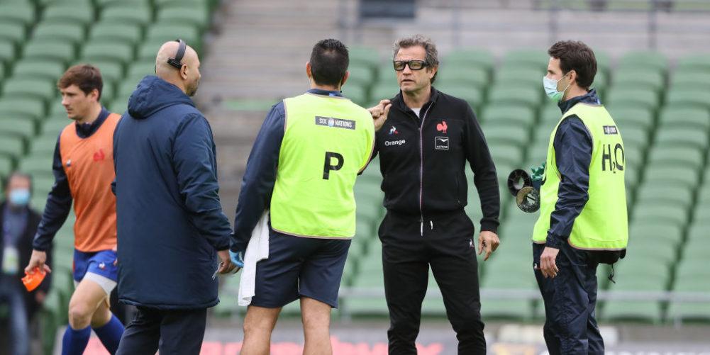 France head coach Fabien Galthie