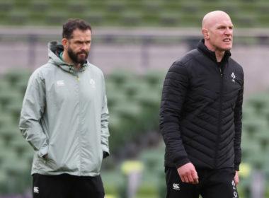 Ireland head coach Andy Farrell
