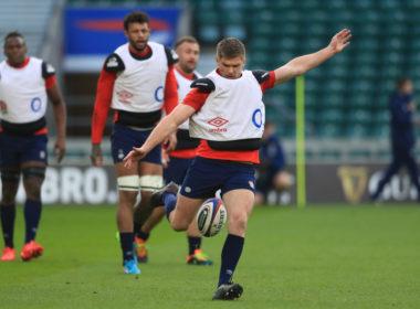 England fly-half Owen Farrell
