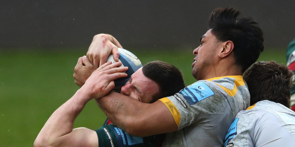 Leicester Tigers beat Wasps at Welford Road