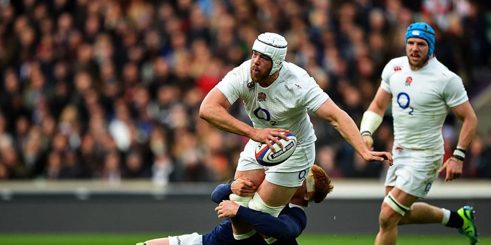 England lock Dave Attwood