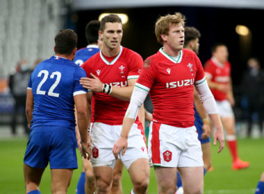 Scarlets and Wales fly-half Rhys Patchell
