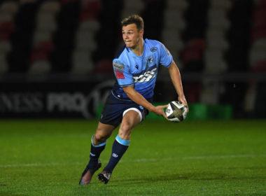 Cardiff Blues fly-half Jarrod Evans