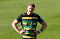 Northampton Saints lock David Ribbans