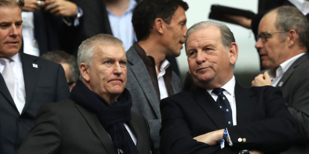 RFU heads Bill Sweeney and Andy Cosslett