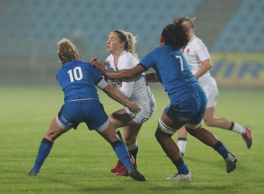 England wing Abby Dow