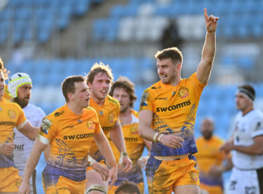 Exeter Chiefs beat Lyon in the Champions Cup