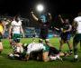Bath 26-13 London Irish: Zach Mercerthe man asBath flexmuscles