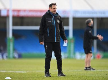 Exeter Chiefs head coach Ali Hepher