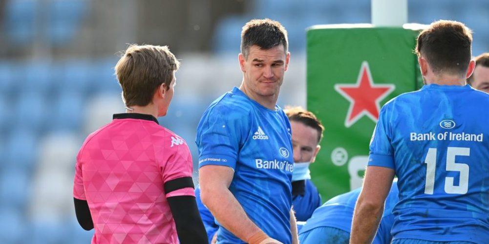 Leinster fly-half Johnny Sexton