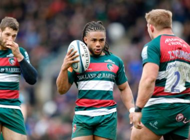 Leicester Tigers centre Kyle Eastmond