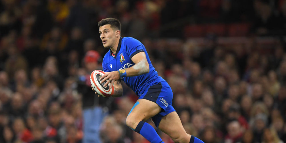 Tomasso Allan has signed for Harlequins