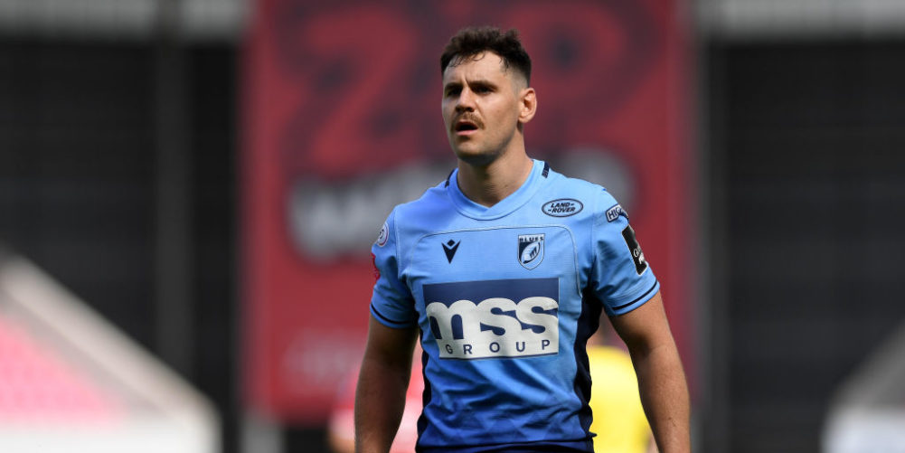 Cardiff Blues scrum-half Tomos Williams