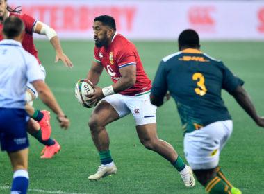 Lions select Bundee Aki for third Test against Springboks