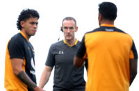 Wasps defence coach Ian Costello
