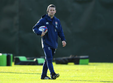 England attack coach Simon Amor