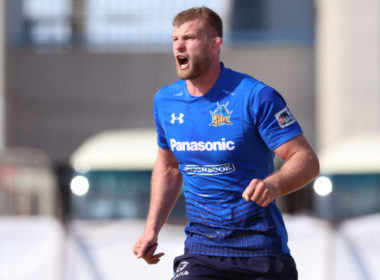 George Kruis in the Top League