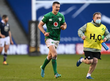 Ireland captain Johnny Sexton