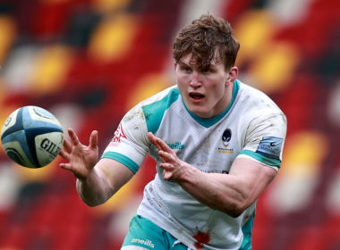 Worcester Warriors back row Ted Hill