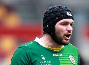 London Irish back row Matt Rogerson