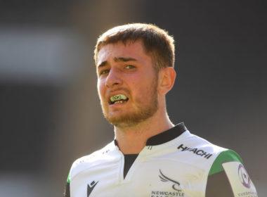 Newcastle Falcons winger Ben Stevenson