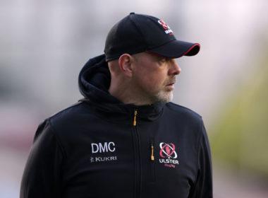 Ulster head coach Dan McFarland