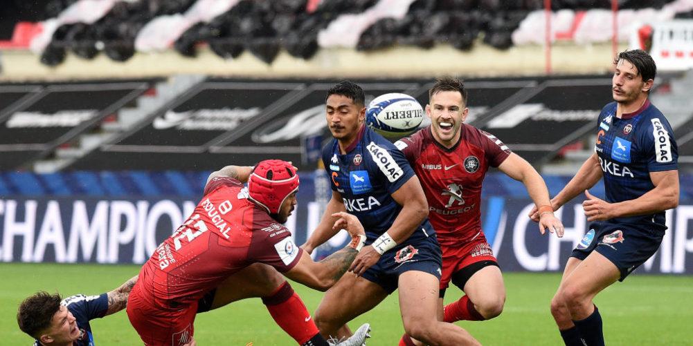 Toulouse beat Bordeaux-Begles