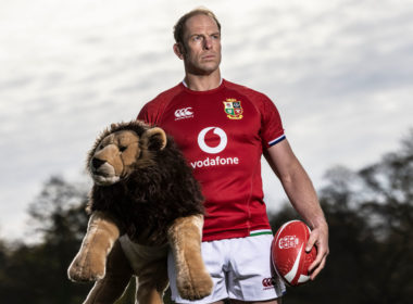 2021 British & Irish Lions captain Alun Wyn Jones
