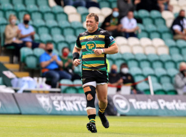 Northampton Saints prop Alex Waller