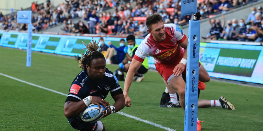 Sale Sharks wing Marland Yarde