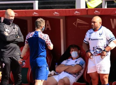 Leicester and Bristol boiled over