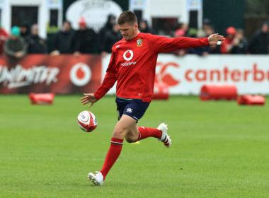 British & Irish Lions fly-half Owen Farrell